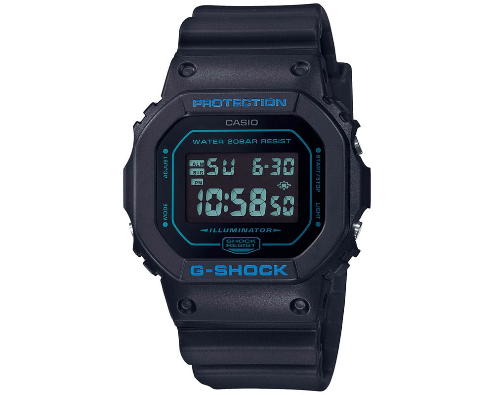 Casio G-Shock with Black Dial