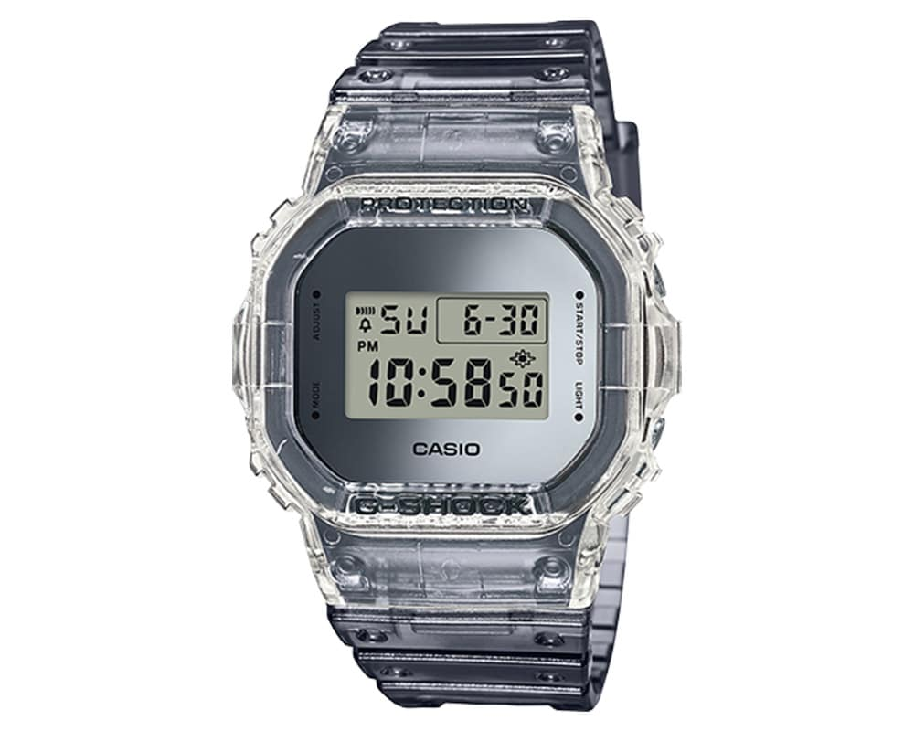 Casio G-Shock with Clean Resin Case