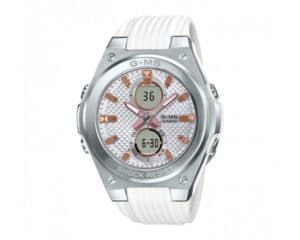 Casio G-Shock G-MS Baby-G with White Rubber Band