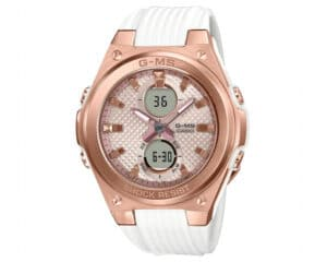 Casio G-Shock G-MS Baby-G with Light Pink Dial