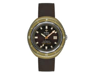 Bronze Brown Sunray Index Dial Limited Edition Super Sea Wolf 68 Zodiak