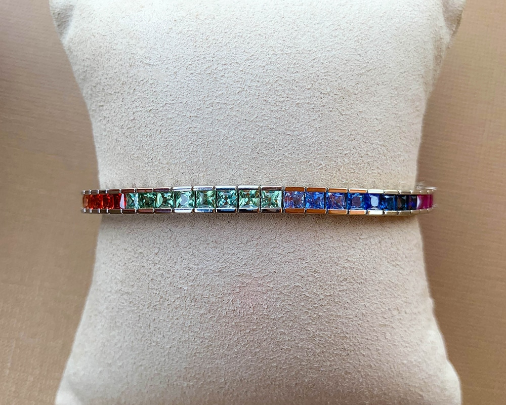 Multi-Color Fashion Bracelet