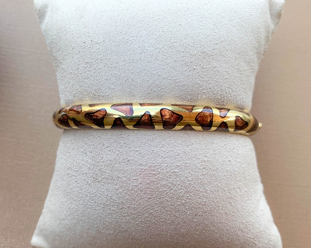 Yellow Gold Fashion Bracelet