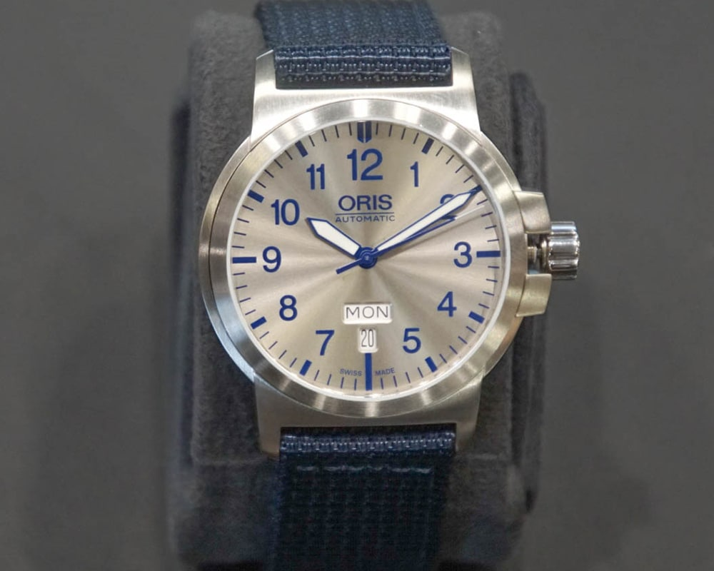 ORIS Watch with Navy Band