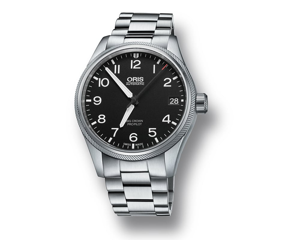 ORIS BIG CROWN PROPILOT MEN`S WATCH BIG DATE 01 751 7697 4164-07 8 20 19