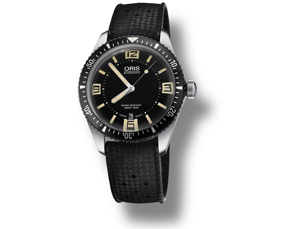 Stainless Steel Black Index/Arabic Dial Oris Diver 01 733 7707 4064-07 4 20 18
