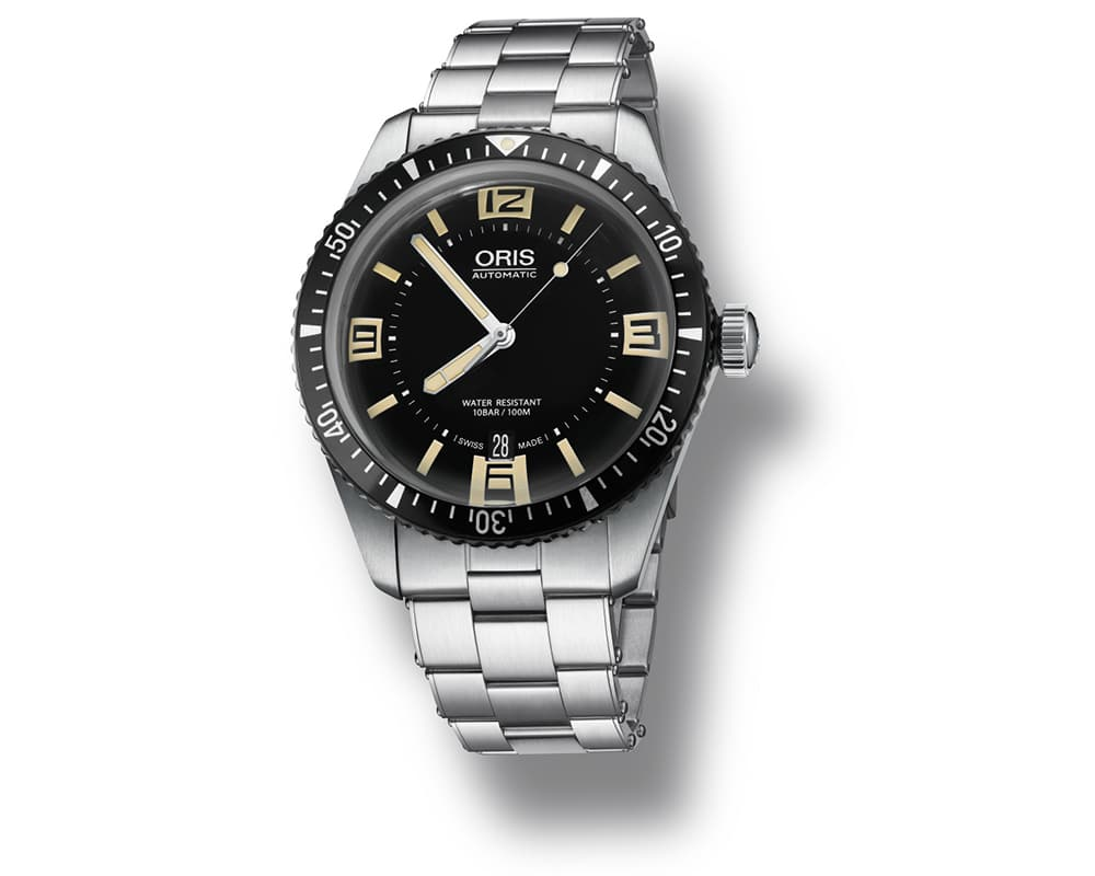 Divers Sixty Five Automatic Black Dial Men`s Watch 01 733 7707 4064-07 8 20 18
