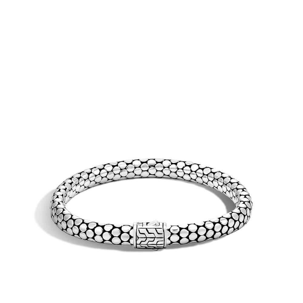 Dot 6.5MM Bracelet in Silver by John Hardy