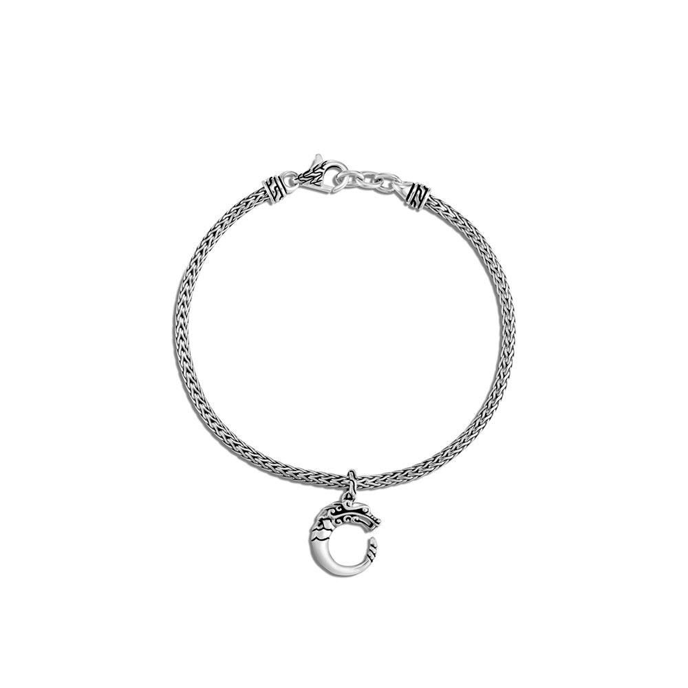 Legends Naga Charm Bracelet in Silver by John Hardy