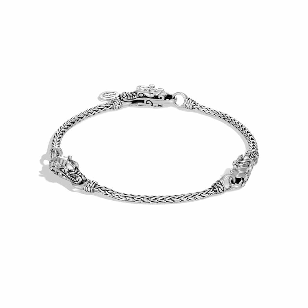 Legends Naga Station Bracelet in Silver by John Hardy