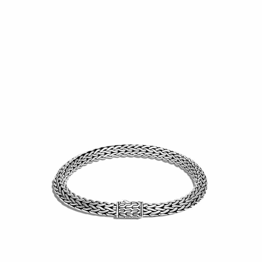 Tiga Classic Chain 6.5MM Bracelet in Silver by John Hardy