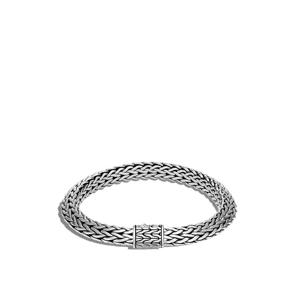 Tiga Classic Chain 8MM Bracelet in Silver by John Hardy