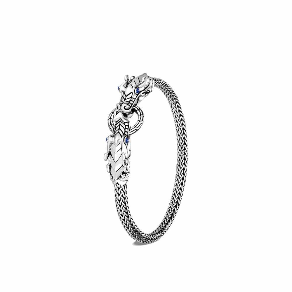 Legends Naga 5MM Bracelet in Silver, Gem by John Hardy
