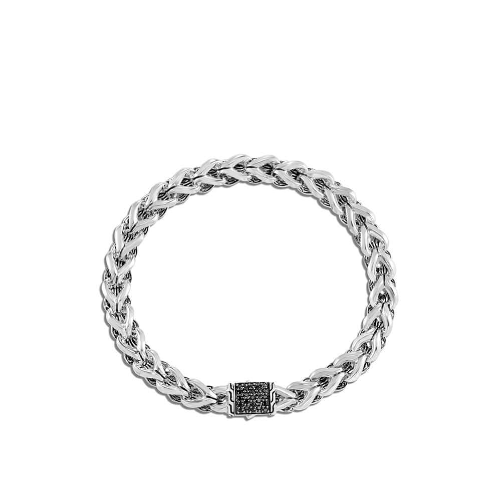 Asli Classic Chain Link 7MM Bracelet, Silver with Gemstone by John Hardy