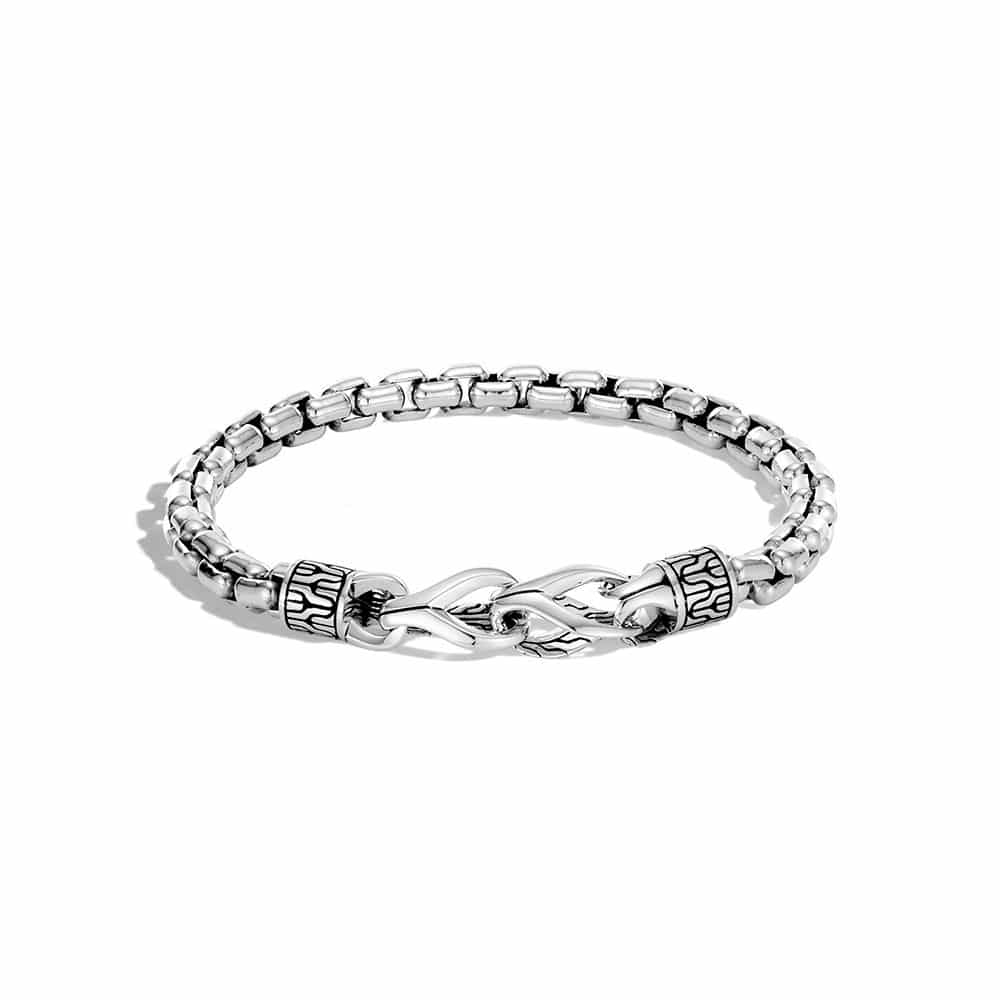 Asli Classic Chain Link 6MM Bracelet in Silver By John Hardy