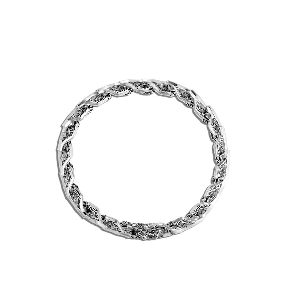 Asli Classic Chain 7MM Link Bracelet in Silver By John Hardy