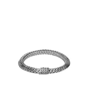 Tiga Classic Chain 8mm Bracelet In Silver By John Hardy