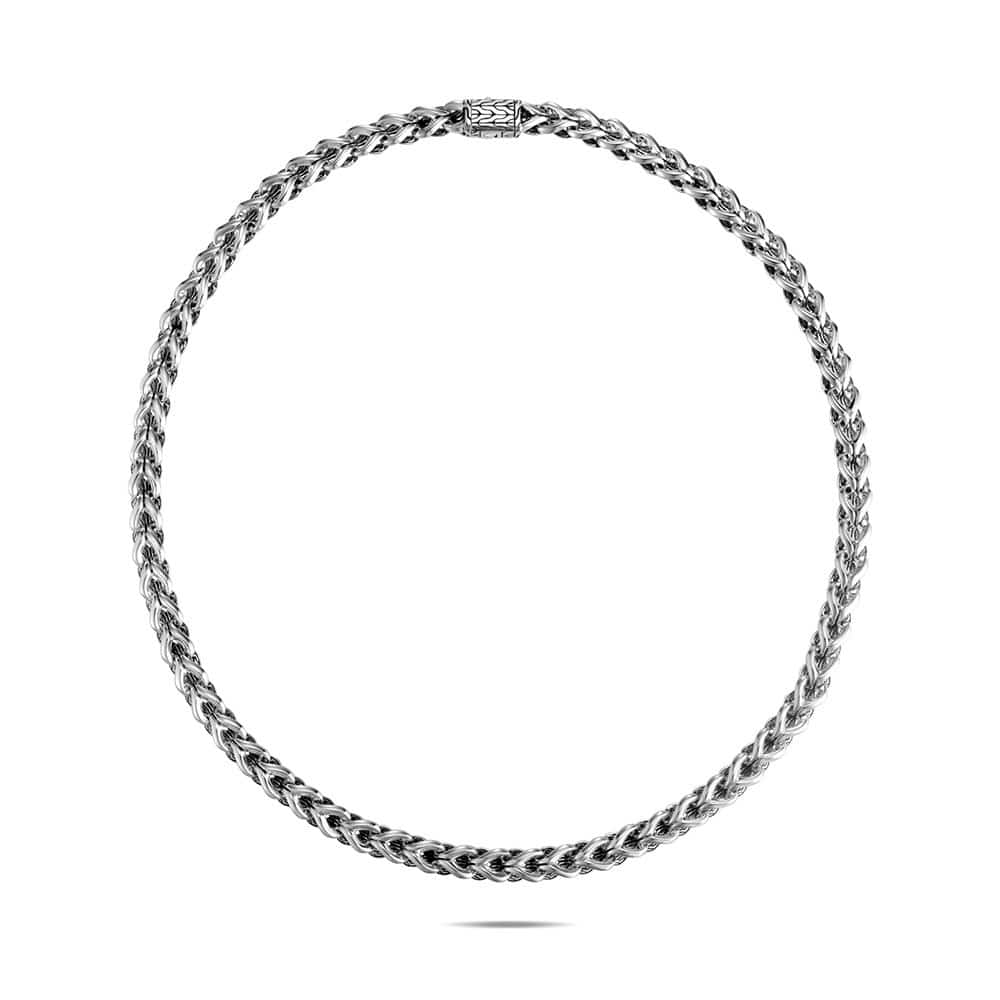 Asli Classic Chain Link 7MM Necklace in Silver By John Hardy