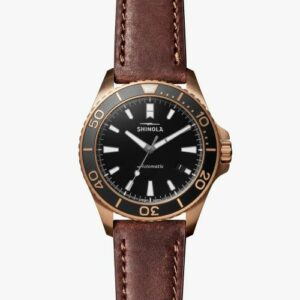 SHINOLA BRONZE MONSTER MEN`S WATCH S0120161956