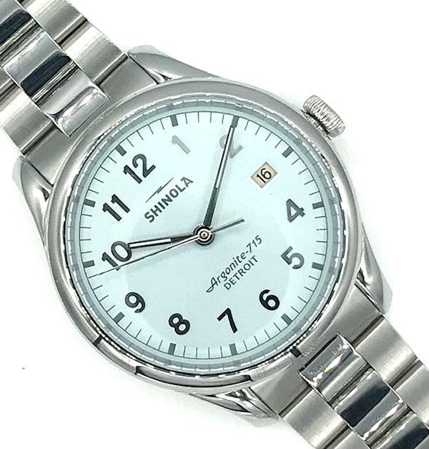 Shinola Blue Dial 40mm Watch