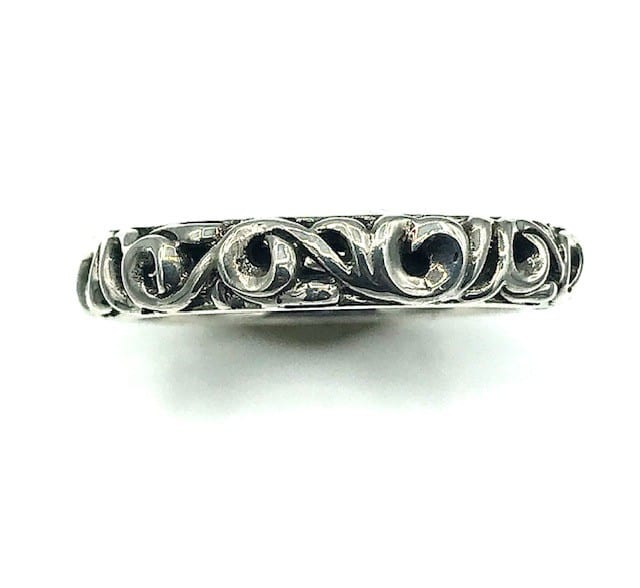 Charles Krypell Sterling Silver Fashion Band Ring