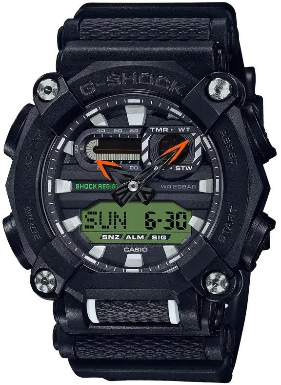 CASIO G SHOCK GA900E-1A3
