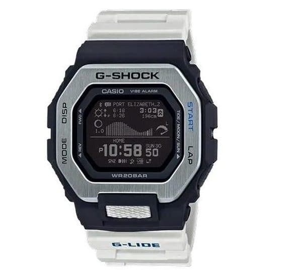 Casio G-SHOCK Resin Stainless Steel, Digital G-LIDE Watch GBX100-7