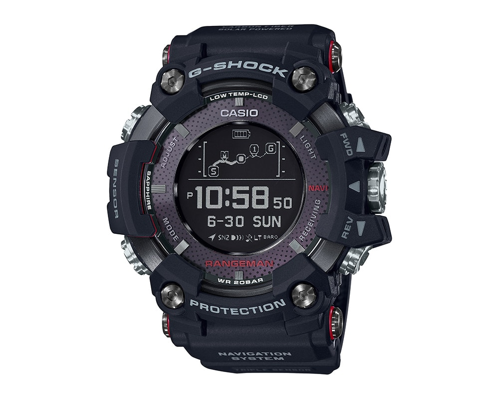 G SHOCK GPS BLUETOOTH WATCH GPRB1000-1 RANGEMAN
