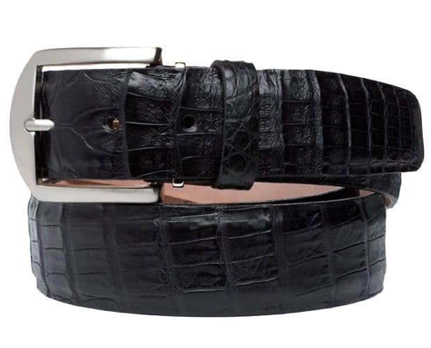 Caiman 40mm L. E. N. Lifestyle Belt In Black
