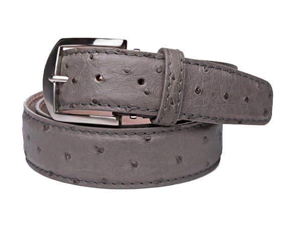 Ostrich 40mm L. E. N. Lifestyle Belt In Grey