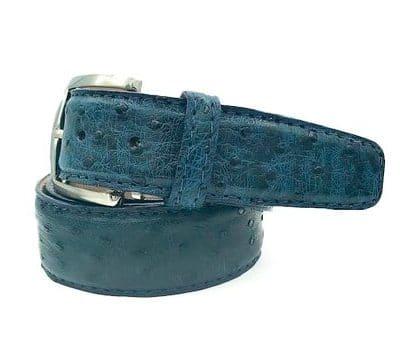 Ostrich 40mm L. E. N. Lifestyle Belt In Midnight Blue