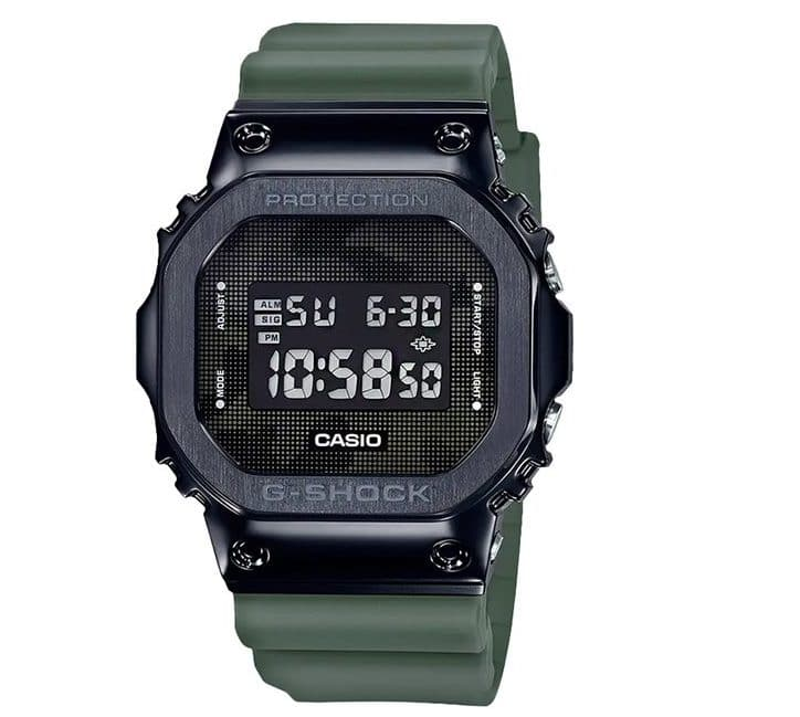 Casio G-SHOCK Stainless Steel, Camo Digital Watch GM5600B-3