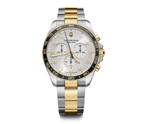 FieldForce Classic Chrono Stainless Steel And Gold