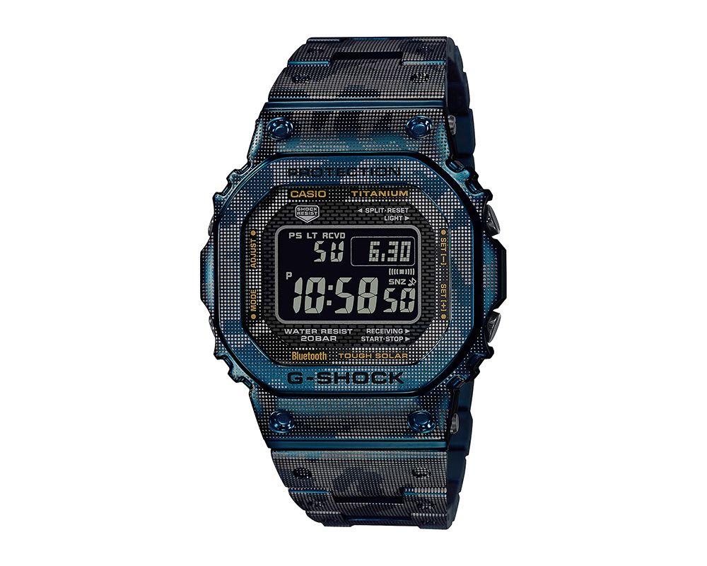 Full Metal Digital Camo G-Shock GMWB5000TCF2