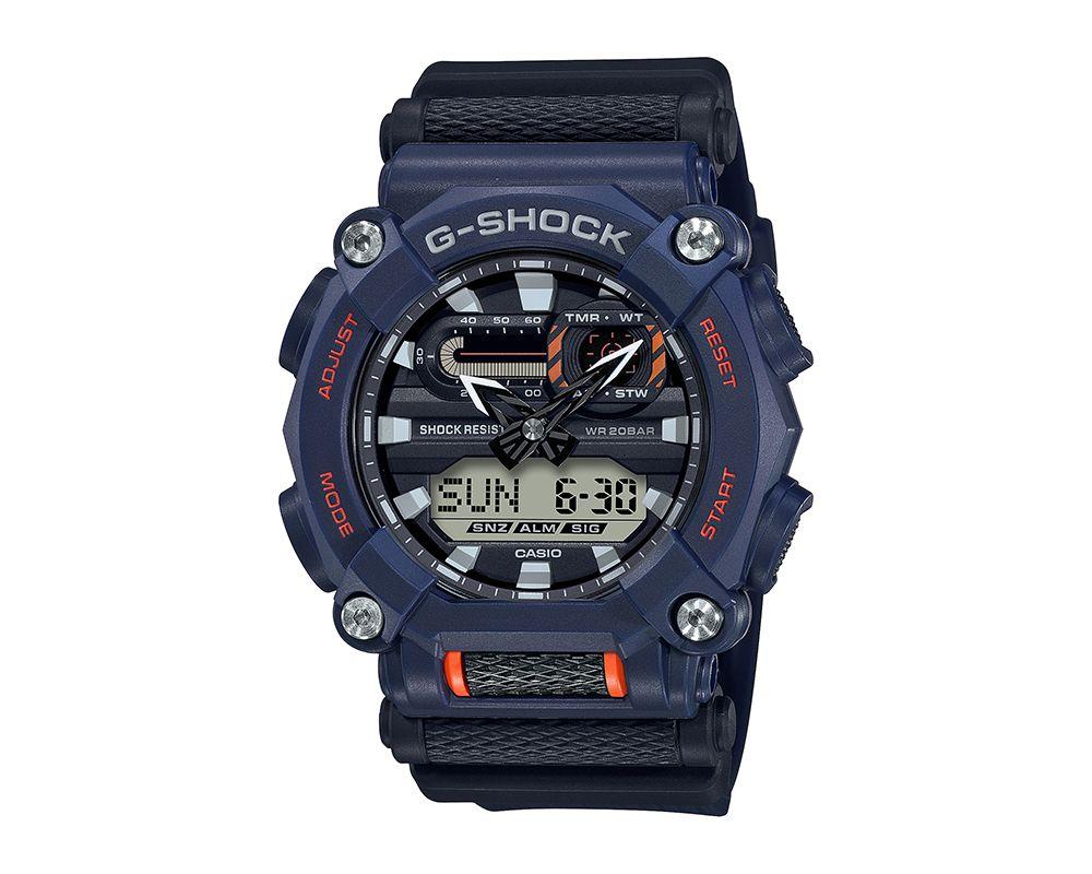 Heavy Duty G-Shock Navy Resins Case  GA900-2A