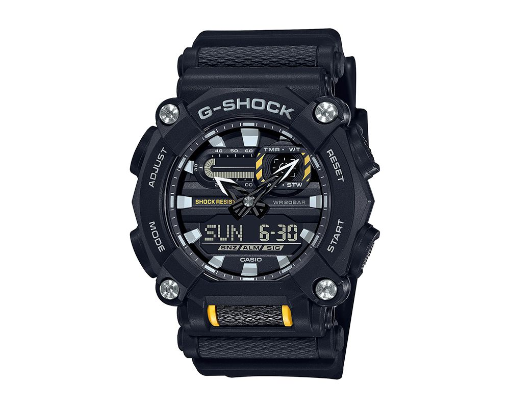 Heavy Duty G-Shock with Black Accents GA900-1A