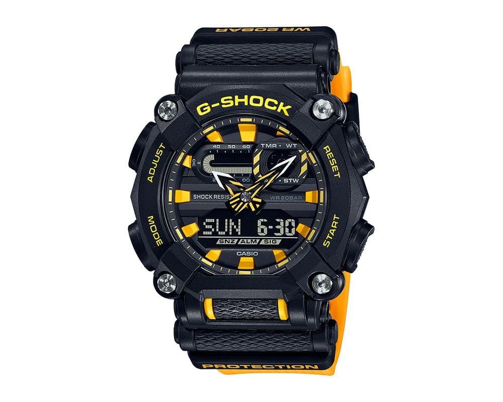 Heavy Duty High Reflective Yellow G-Shock GA900A-1A9