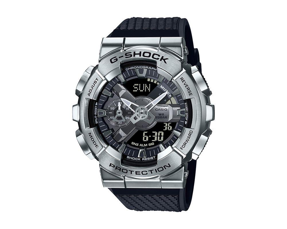 Stainless Steel Analog Digital G-Shock GM110-1A