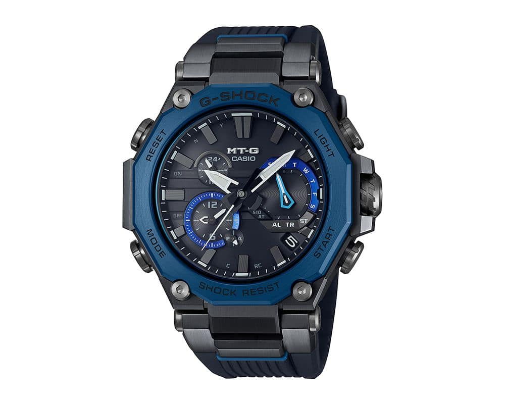 MT-G Black with Blue Accents G-Shock MTGB2000B1A2