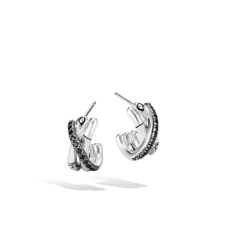 J Hoop Earring