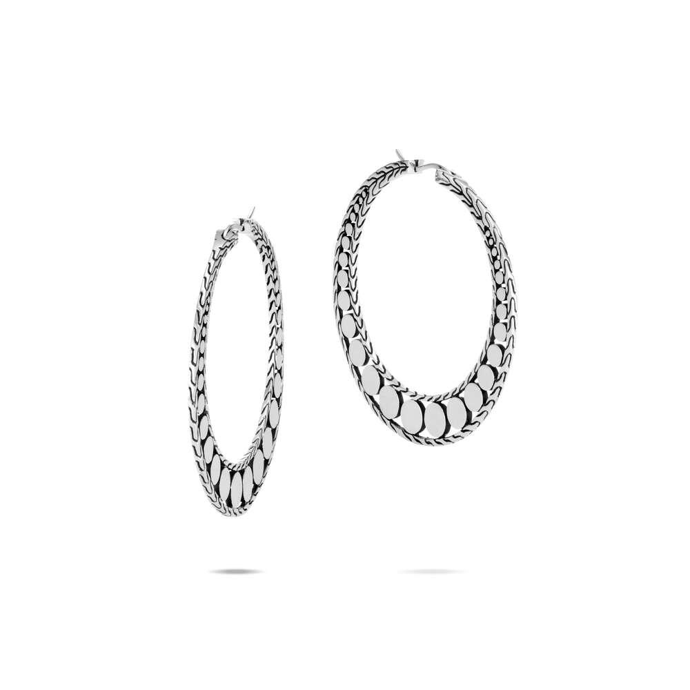Dot Hoop Earring