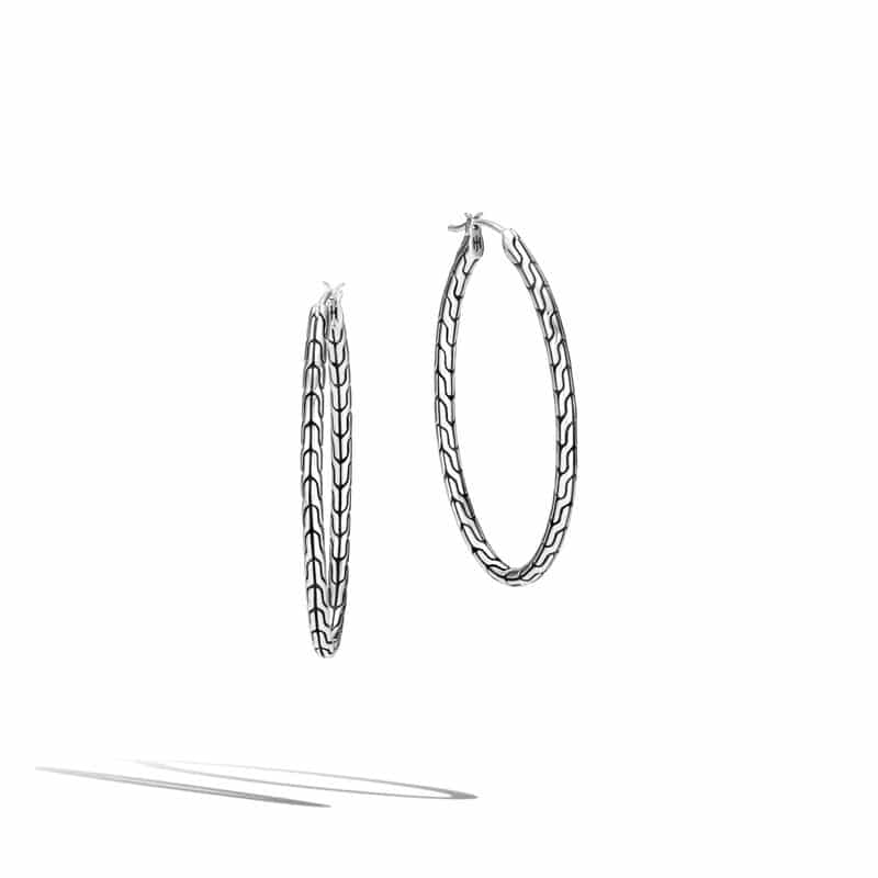 Classic Chain Large Hoop Earring