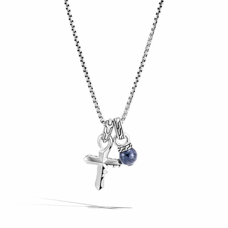 Classic Chain Keris Dagger Charm Necklace