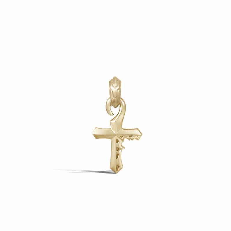 Classic Chain Keris Dagger Cross Amulet