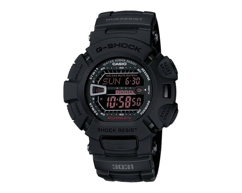 Military Inspired MUDMAN G-Shock ORIGIN Master of G Line Up G9000MS-1