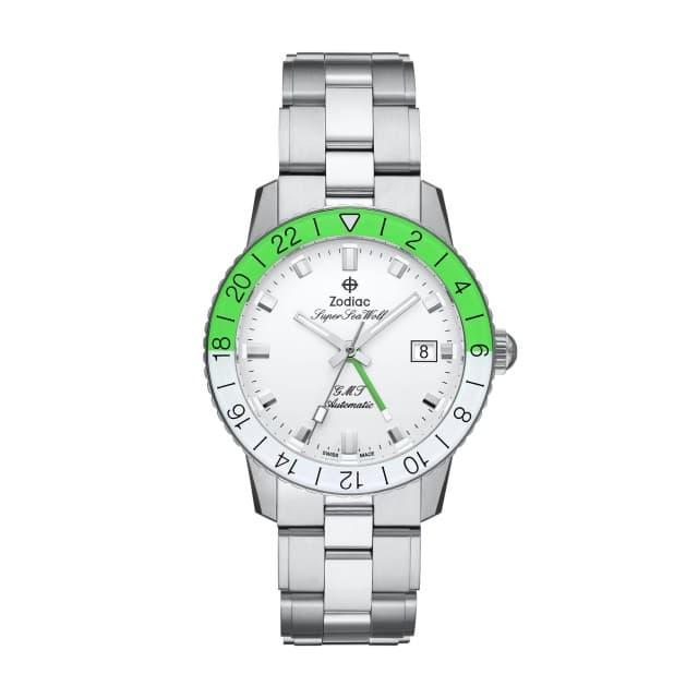 Super Sea Wolf GMT Automatic Neon Green
