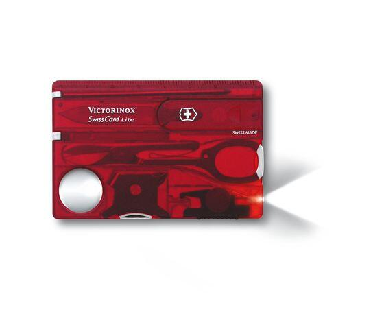 Swiss Card with LED Light