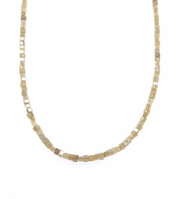 Lady's 14kt Yellow Gold Diamond Strand